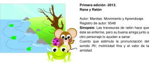 Cuento Manitas Rana y Ratón