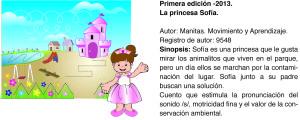 Cuento Manitas princesa sofia