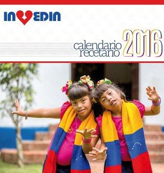 Calendario-Recetario 2016 de Invedin