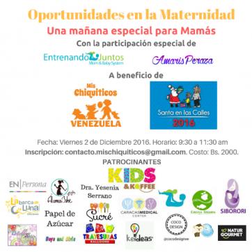 Mamá: Encuentro sobre las Oportunidades en la Maternidad