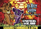 El Rey León y la Princesa Pantera: una divertida obra teatral infantil